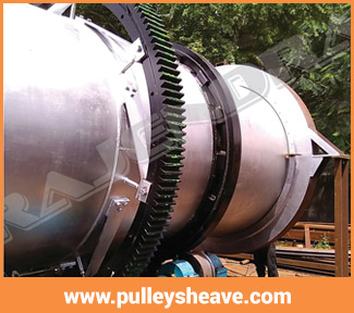 3800 DIA ROTARY DRYER GIRTH GEAR