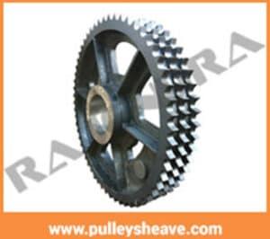60 T3 INCH TRIPLEX SPROCKET, SMSR gear box manufacturer in ahmedabad, Surat,