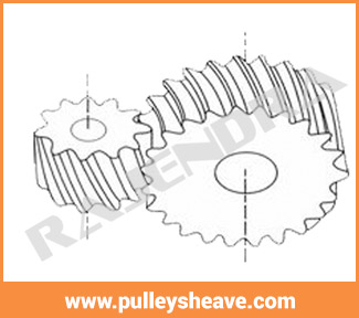 CROSS HELICAL GEAR, Pulley Manufacturer In Thane, Mumbai, India