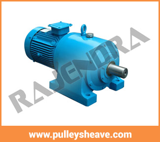 Best Quality HELICAL GEAR MOTOR - Pulley India,