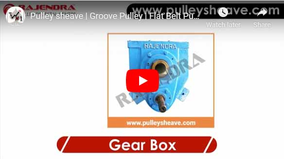 Gear manufacturer in Ahmedabad, Pulley India - Smsr gear box